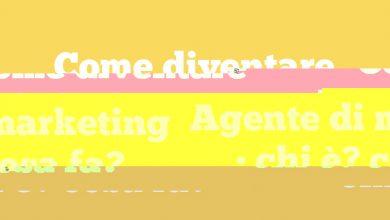 Come diventare Agente di marketing • chi è? cosa fa?